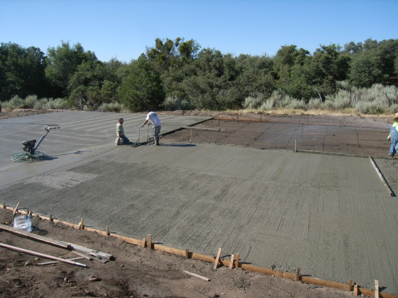 06. Laying Concrete