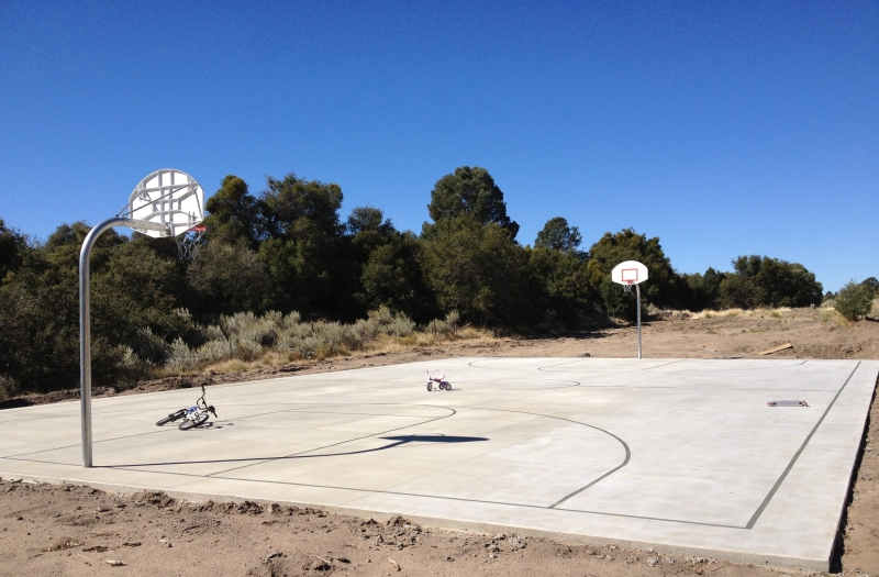 07. Ramona Finished Basketball and Volleyball Court